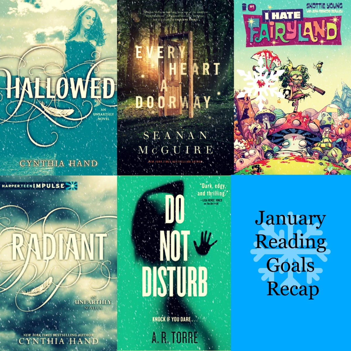 Recap #1: January Reading Goals